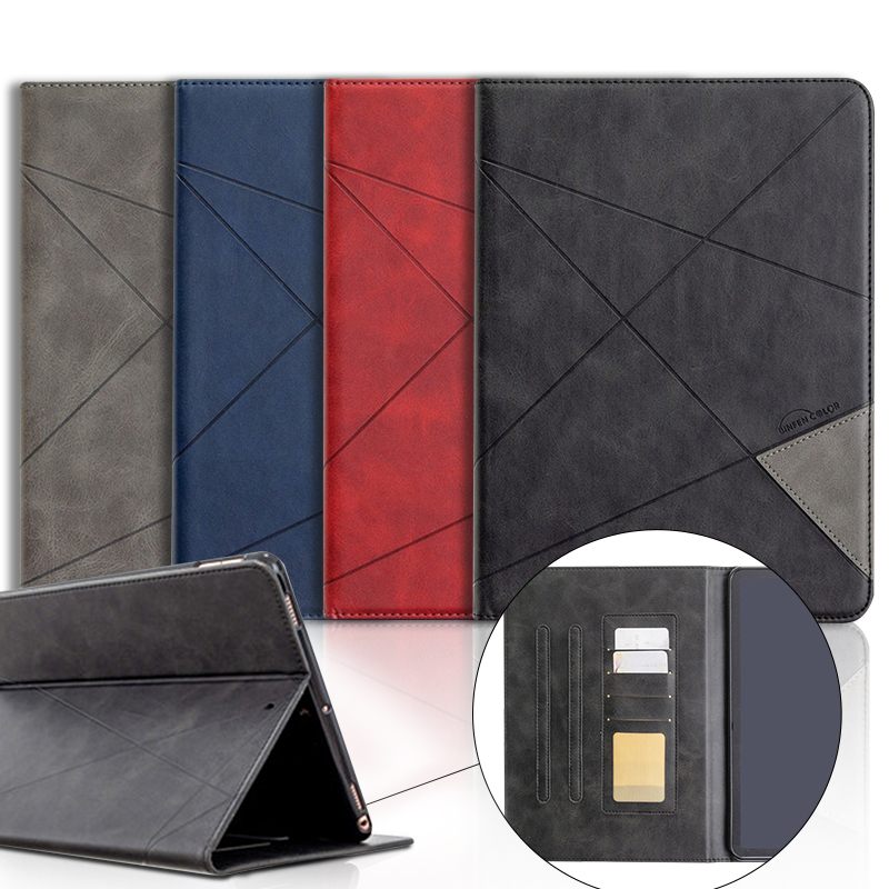 Leather Case For Samsung Galaxy Tab A 10.1 10 1 2019 SM-T515 T515 T510 Luxury Magnet Stand Case For Galaxy Tab A 2019 Flip Cover