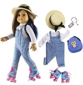 Новинка, 18 дюймов, Одежда для кукол наряд для 18 дюймов, американская кукла, много стилей на выбор #31