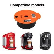 Cápsula reutilizable para máquina de café, cestas de filtro de taza de café, Pod y cuchara, cepillo para Bosch-s Tassimo Cafe, utensilios de cocina
