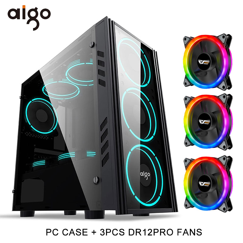 pc case and 3RGB Fan