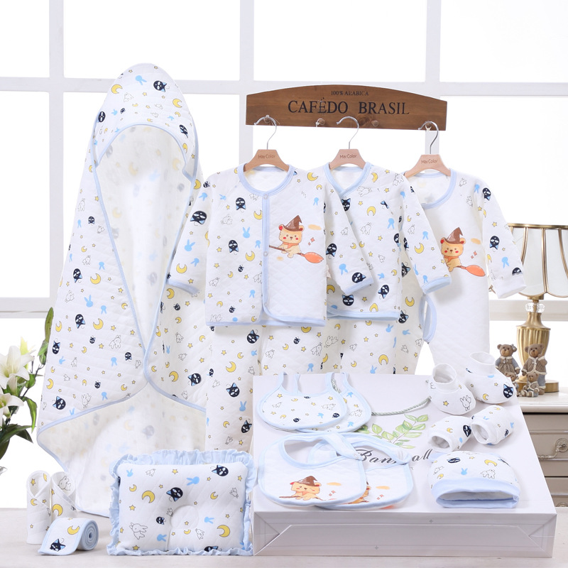 Pure Cotton Clothes For Babies Newborns Gift Set 0-3 Month 6 Autumn & Winter BABY'S FIRST Month Baby Supplies Gift Packs