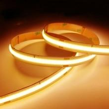 5v High Density COB/FOB Led Flexible Strip Light White/Natur