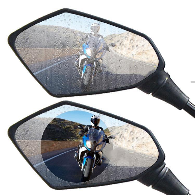 Непромокаемая пленка для зеркала заднего вида электромобиля непромокаемая Водонепроницаемая противотуманная Защитная пленка для заднего...