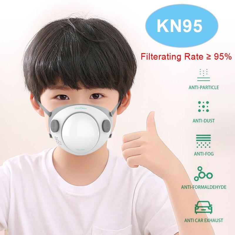 N95 Mask Kids N95 Respirator Mask Reusable Washable Protective Mask With Filter Kn95 Mask PM2.5 FFP2 FFP3 Masks For Children