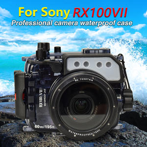 Mcoplus Bag 195ft-Camera Rx100m7 Waterproof Housing-Case 60m for Sony VII Diving