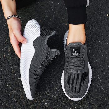 Hot Style Shoes Men High Quality Sneakers Male Mesh Breathable Gym Men Casual Shoes Big