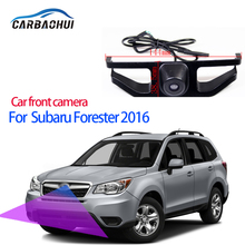 Parking Accessories Logo Car Front Camera For Subaru Forester 2016 Waterproof Night Vision CCD high quality