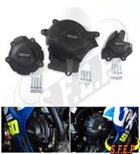 Caso do motor da motocicleta guarda protetor capa gb corrida para suzuki GSX R1000 gsxr1000 L7 L9 2017 2018 2019