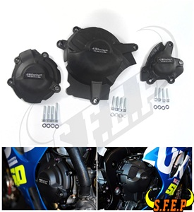 Image 1 - دراجة نارية المحرك حالة الحرس حامي غطاء GB سباق لسوزوكي GSX R1000 GSXR1000 L7 L9 2017 2018 2019