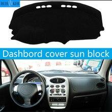 цена на Dashboard Cover Sun Shade Dash Mat Pad Carpet Car Stickers Interior Accessories For Chery QQ A1 QQ3 QQ6 Sweet IQ MVM110 A1 08-11