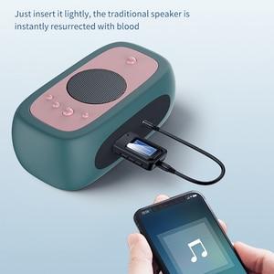 Image 2 - บลูทูธ 5.0 ตัวรับสัญญาณ LCD 3.5 มม.AUX แจ็ค USB ไร้สายอะแดปเตอร์เสียงสำหรับรถยนต์ PC ทีวีลำโพงหูฟังเพลง