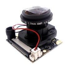 Framboise PI 3 génération B type 175 degrés vision nocturne grand objectif commutation automatique IR CUT framboise tarte caméra