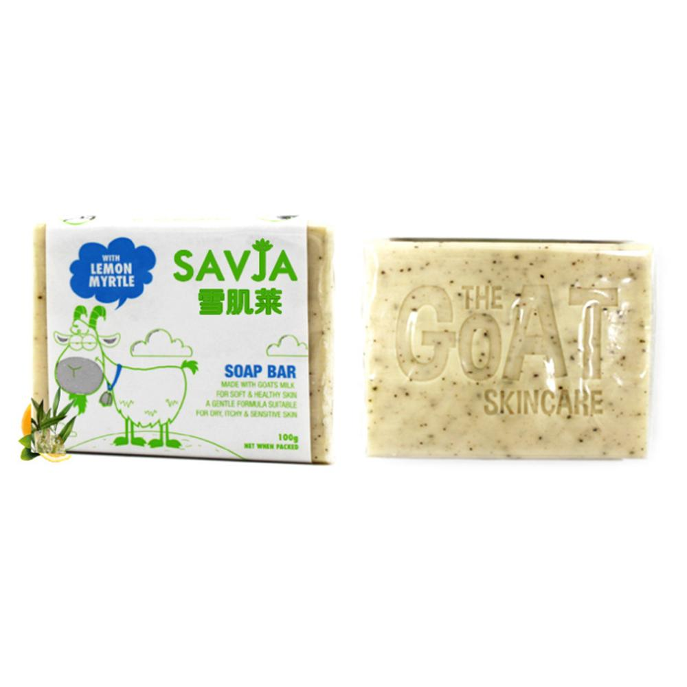 100g Handmade Goat Milk Soap Antiallergic Moisturizers Facial Bath Cleaner For Dry Itching Acne Pimple Sensitive Skin Care