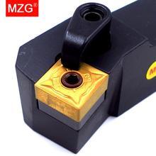 Mzg 20mm 25mm msknr1616h12 torno cnc mandril usinagem cortador chato metal corte toolholders ferramentas de torneamento externo titular