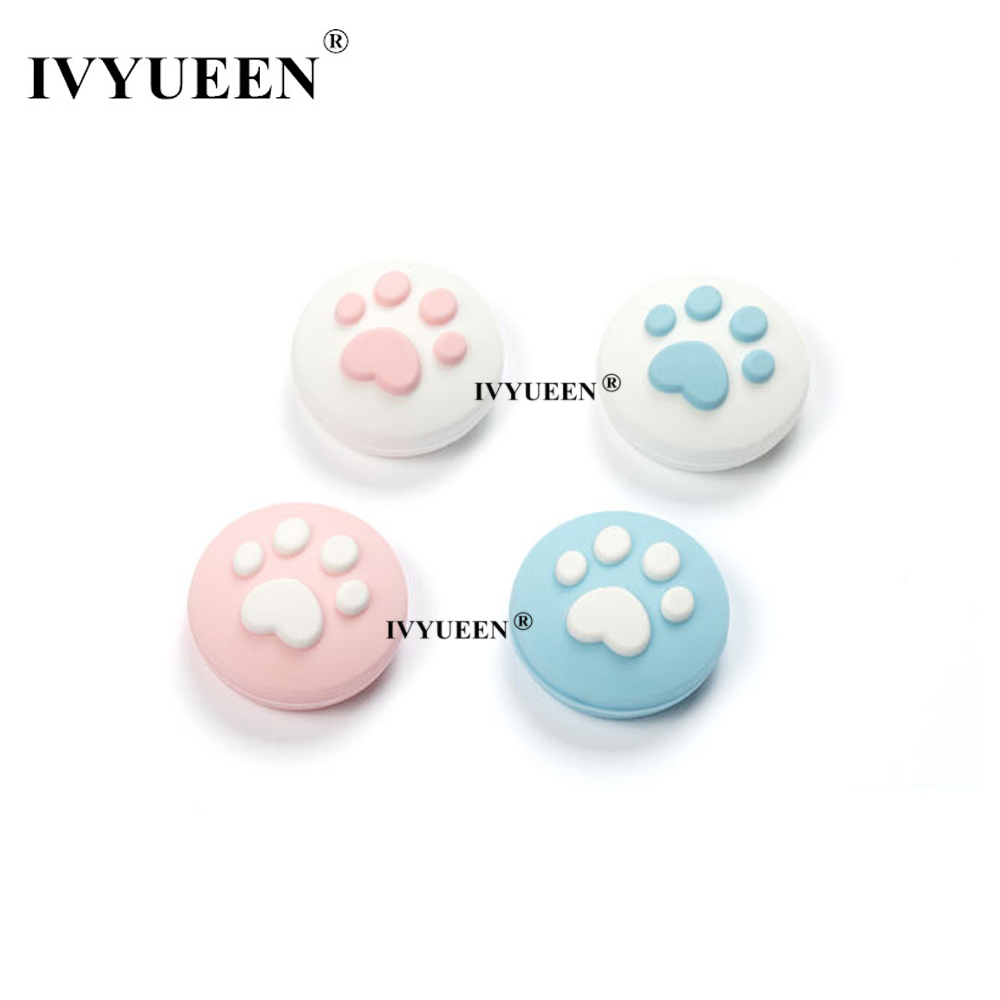 IVYUEEN For Nintend Swith NS Lite Mini Analog Thumb Stick Grips For NintendoSwith Joy Con JoyCon Controller Joystick Cap Cover