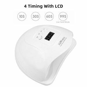 Image 2 - Zon X5 Plus Uv Led Lamp Voor Nagels Droger 36 / 12 Leds Lcd Display Ijs Lamp Voor Manicure Gel nail Lamp Drogen Lamp Voor Gel Varnis