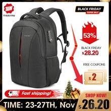 Tigernu USB 충전 남자 15.6 인치 노트북 배낭 소년을위한 학생 Schoolbag 방수 품질 남성 배낭 Mochila 가방