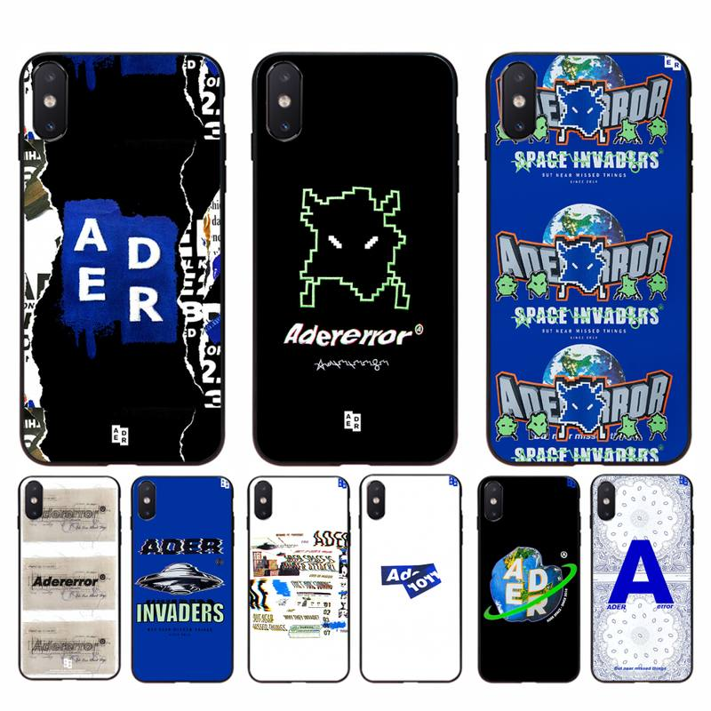 Babaite ader error Soft <font><b>Phone</b></font> <font><b>Case</b></font> Cover for <font><b>iphone</b></font> 11 Pro Max X XS MAX 6 6s 7 8 plus 5 5S <font><b>5SE</b></font> XR SE2020 image