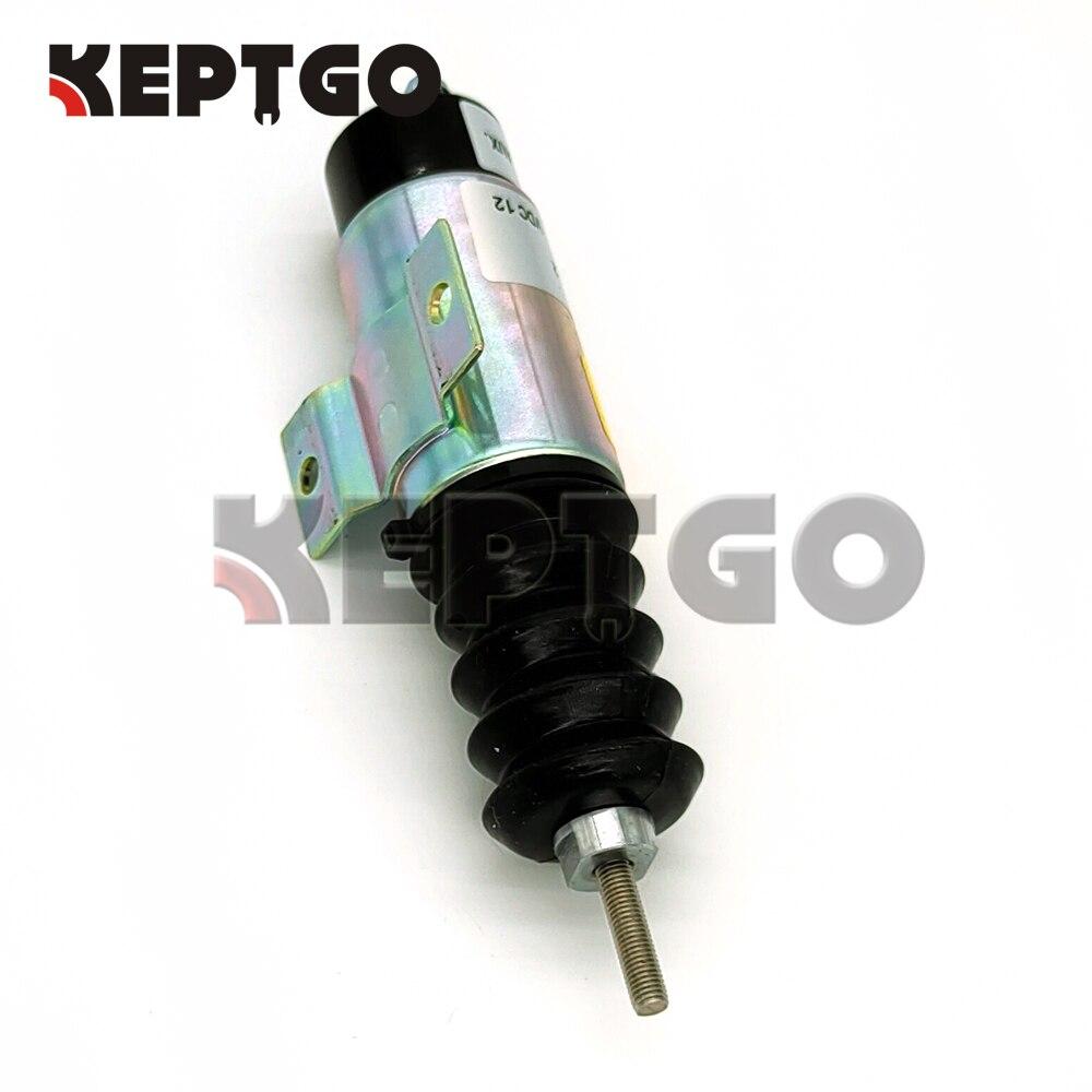 nova bobina dupla puxar solenoide d610 b1v12 d610b1v12 para kubota d905 motor 12v 04
