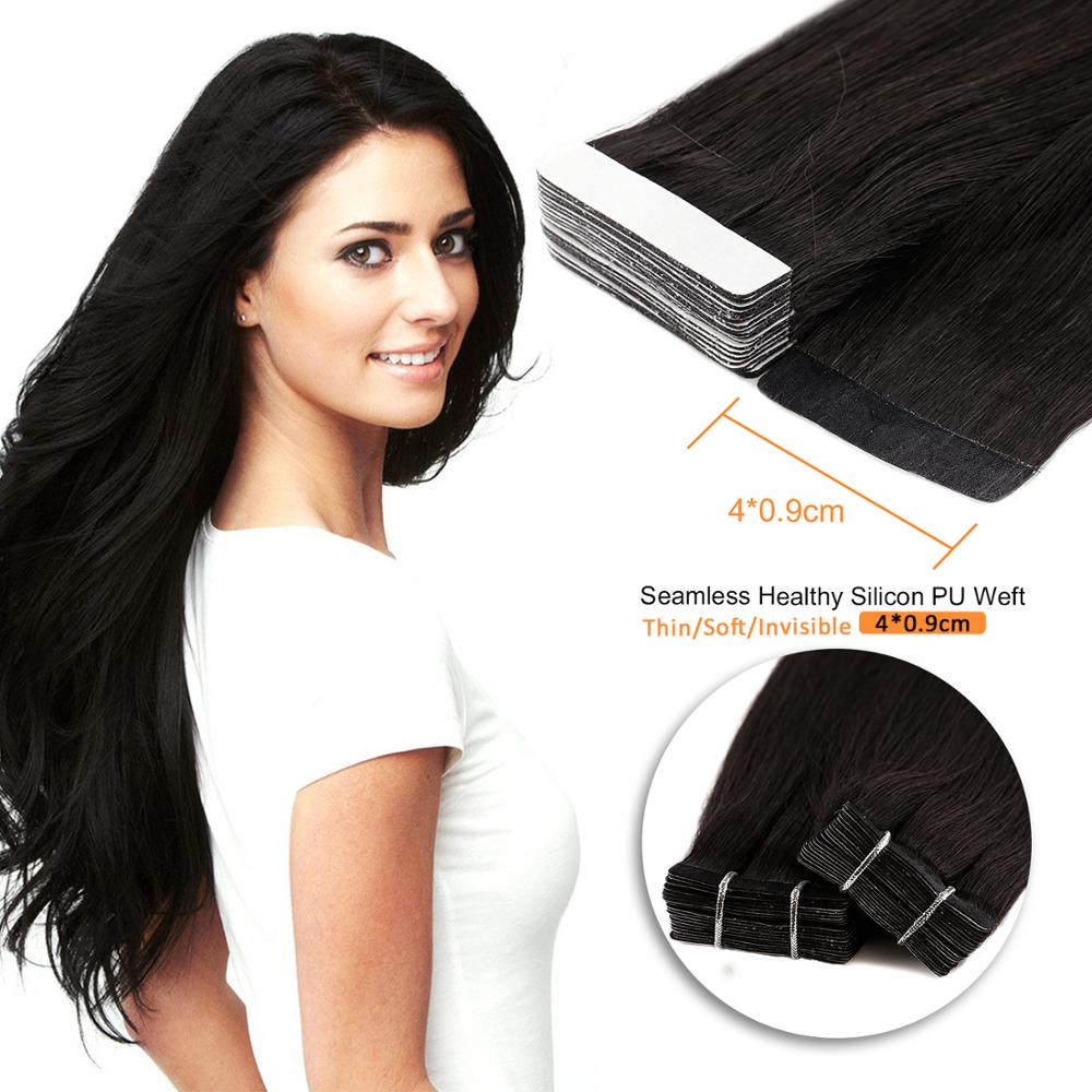 Neitsi Tape In Human Hair Extensions 12