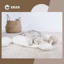 Pet cats and dogs (lamb pattern) mats cat sleeping dog pet pads cotton