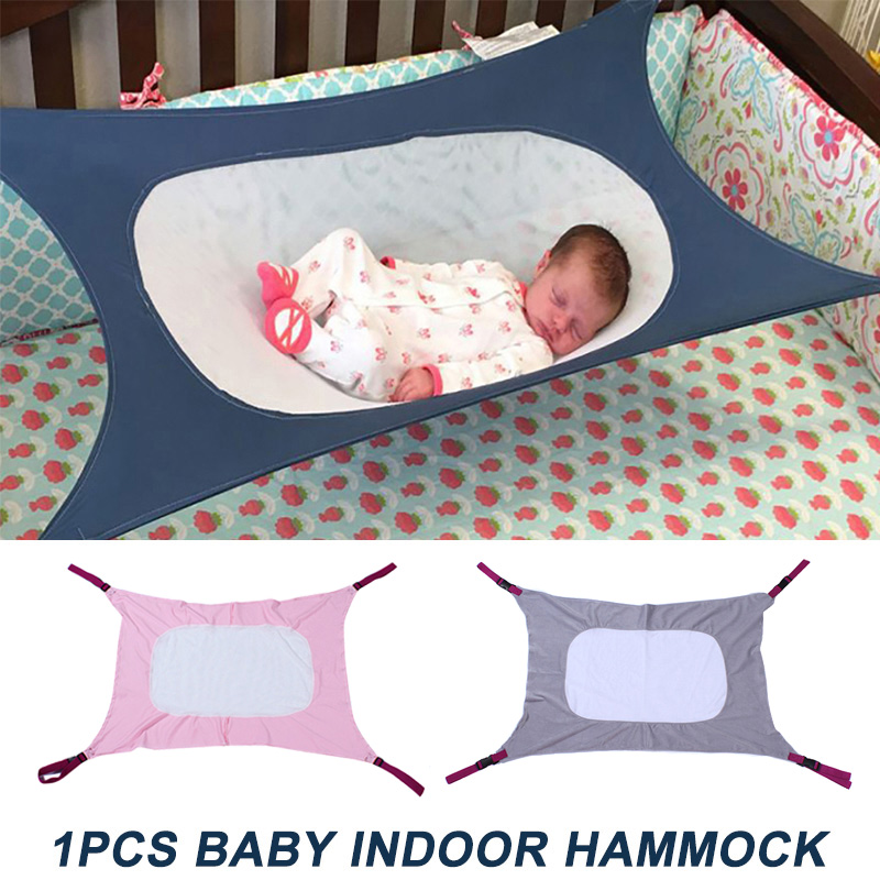 Newborn Baby Hammock Swing Folding Infant Crib Safety Nursery Sleeping Bed AN88