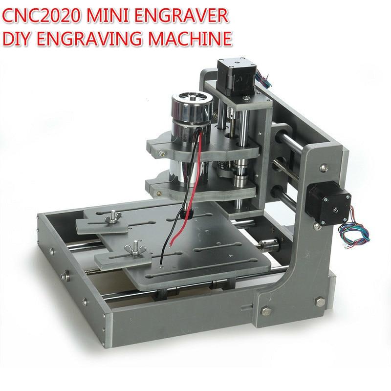 CNC 2020 Desktop Engraver Mini 3 Axis CNC DIY Router CNC2020 Wood Carving Engraving Machine