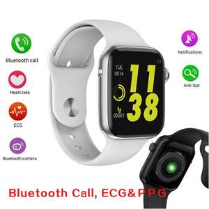 696 Monitor W34-Smartwatch Bluetooth-Call iPhone Xiaomi 8-Lite Android for IWO Ecg-Heart-Rate