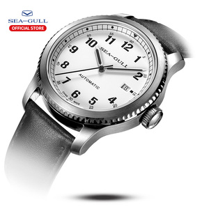 Image 4 - Seagull Mens Watch Fashion Leisure Sports Automatic Mechanical Watch Calendar Sapphire Commander Series  819.23.6081H