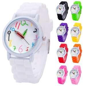 Kids Watches Quartz-Boys Children Digital Girl's Students Fashion Pencil-Pointer Intelligent