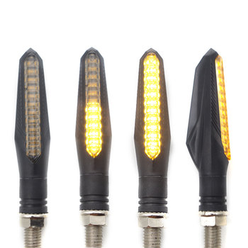 motorcycle turn signal led for honda shadow xmax 125 yamaha vino 650 bandit yamaha virago honda x4 Flash water light &Z52 image