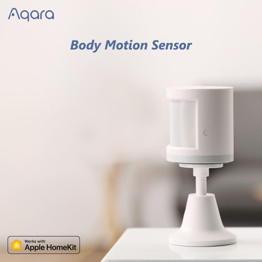 Aqara Human Body Sensor Smart Body Movement Motion Sensor Zigbee Connection Support Mijia For Android IOS