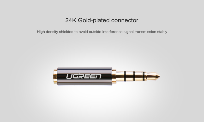 H6820f6d65c9f4e38a7567a3a9b96d886h Ugreen Jack 3.5 mm to 2.5 mm Audio Adapter 2.5mm Male to 3.5mm Female Plug Connector for Aux Speaker Cable Headphone Jack 3.5