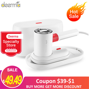 Deerma HS200 2 In 1 Garment Steamers/ Flat Iron 1000W Portable Steam Ironing Machine 110ml Water Tank 1000W 180℃ For Travel Home