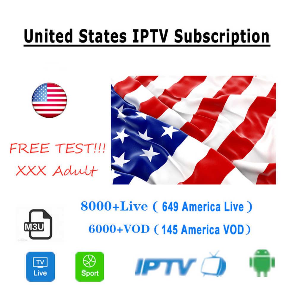 Światowa subskrypcja IPTV m3u 1 rok dla portugalii hiszpania francja włochy USA holenderska subskrypcja Iptv m3u dla smart tv z androidem Box XXX
