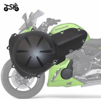 Engine Stator Crank Case Cover Aluminum For Kawasaki NINJA 650R ER 6N VERSYS 650 ABS LT