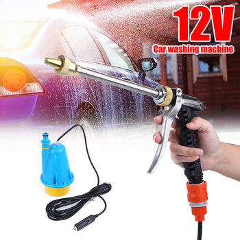 car accesories 12V Car Washing Machine Portable Submersible Pump Household High Pressure Car Washing Machine Standard car washer 220v household high pressure cleaner self suction cleaner water jet brush pump self washing pump