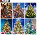 HOMFUN полная Алмазная вышивка «подарки на рождественскую елку» алмазная живопись вышивка крестиком узоры Стразы Незаконченный декор дома