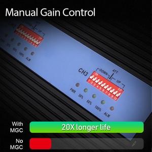 Image 3 - Lintratek nowy 80dB GSM 2G 3G 4G wzmacniacz sygnału 900 1800 2100Mhz Repeater 25dBm Triband wzmacniacz sygnału AGC MGC duży zasięg