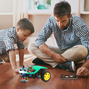 Image 5 - חכם רובוט רכב Starter Kit לarduino R3 עם הדרכה, תמיכת iOS/אנדרואיד, Ps2, wiFi IR בקרת לarduino Diy קיט