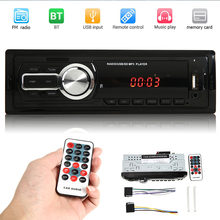 VODOOL 1Din Auto Radios Stereo Bluetooth Fernbedienung AUX-Eingang USB/RCA FM Audio MP3 Player In-dash Auto Radio