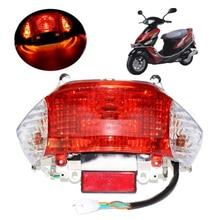 Скутер мопед задний светильник для китайского 49cc 50cc Gy6, танк, квинки, Jonway