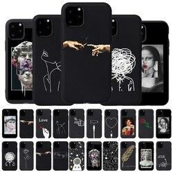 3D рельефный чехол для телефона iPhone 6, 6s, 7, 8 Plus, X, 5, 5S, SE, 11Pro, чехол с мультипликационным принтом «сердце», мягкий ТПУ чехол для iPhone 8, XR, XS Max
