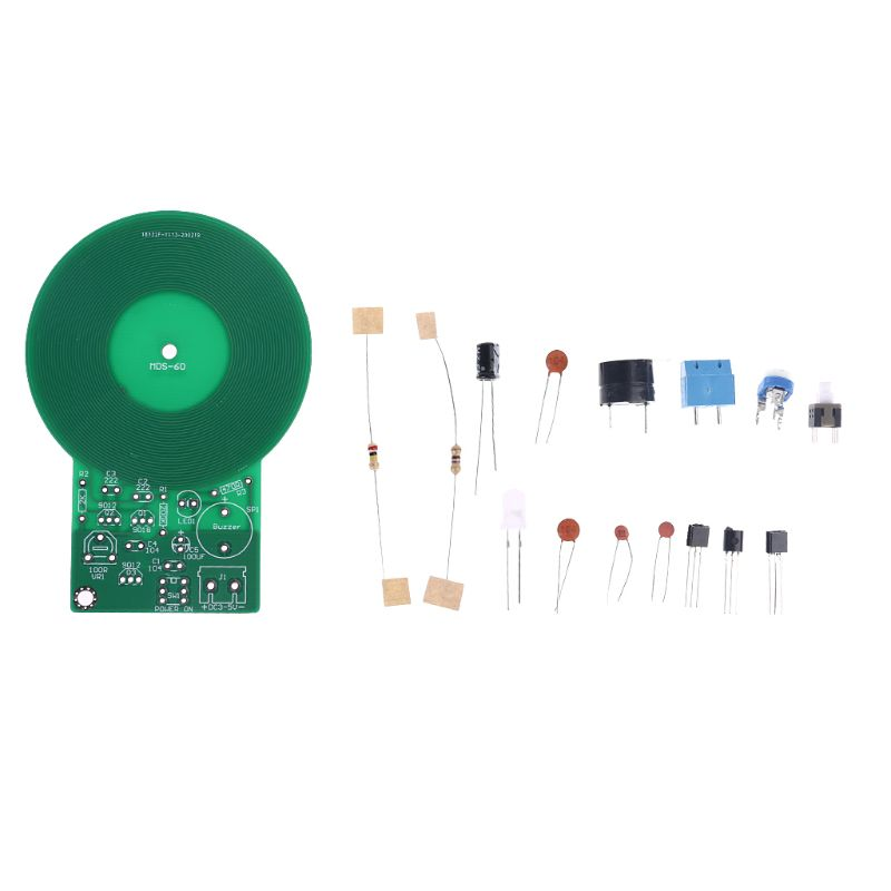 1Set Metal Detector DC 3V-5V DIY Assembled Electronic Kit Welding Exercise Board For Beginners Tools