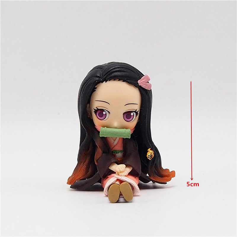 Anime Jepang Gambar Q Posket Petit Action Figure Collectible Model Mainan untuk Anak Laki-laki