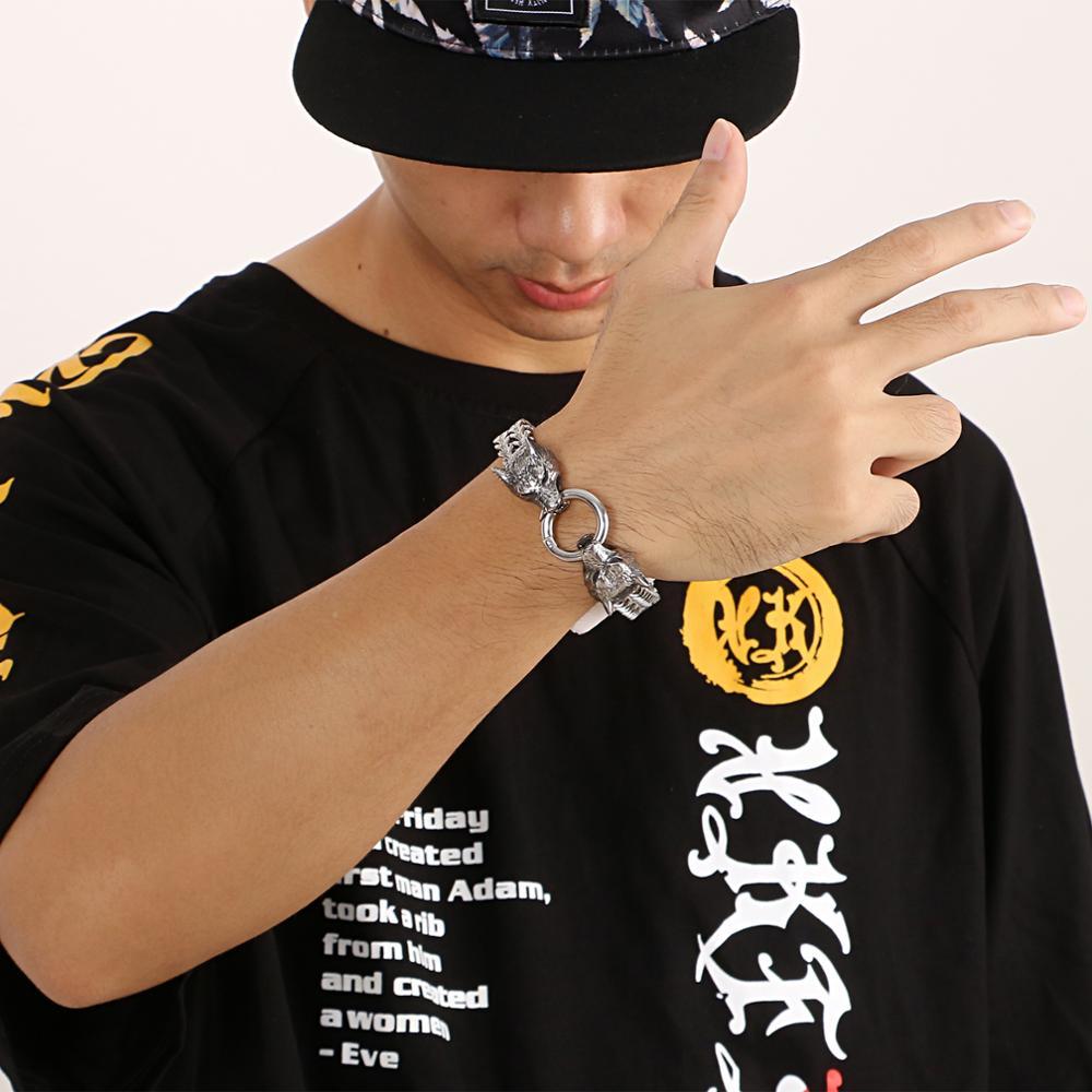 Bracelet Viking loup  5