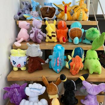 41 Style Pokemoned plush doll Pikachued stuffed toy Charmander Squirtle Bulbasaur Jigglypuff Eevee Snorlax Lapras kids gift 4