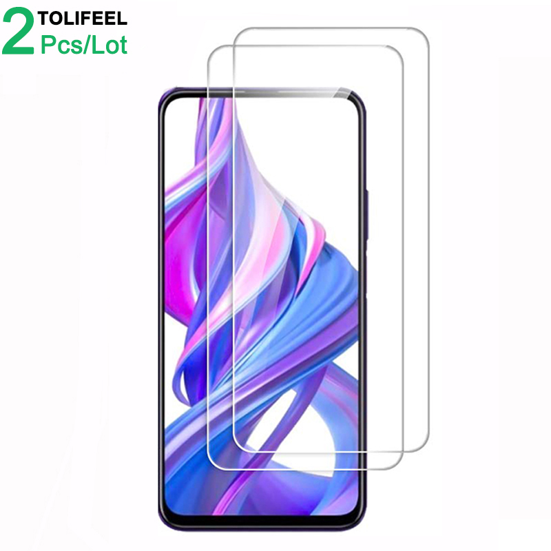 2Pcs Tempered Glass For Huawei Honor 9X Screen Protector 9H 2.5D Phone On Protective Glass For Huawei Honor 9X Pro Glass