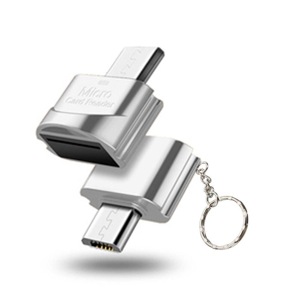 High Speed USB 3.1 Phone Camera TF Card Reader OTG Micro USB Port Memory Card Reader Accessory