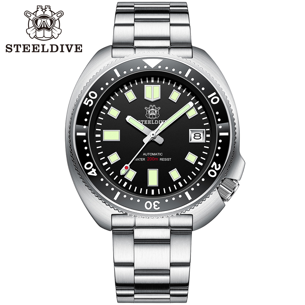 H68231025e8c04c308e9cbadc0b40e3dap SD1970 Steeldive Brand 44MM Men NH35 Dive Watch with Ceramic Bezel